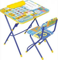 Комплект стол+стул Ника Умничка 3 Первоклашка осень