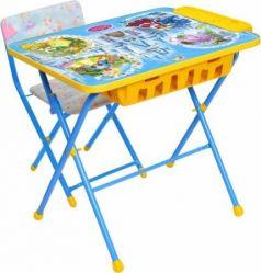 Комплект стол+стул Ника Умничка 2П Волшебный мир принцесс