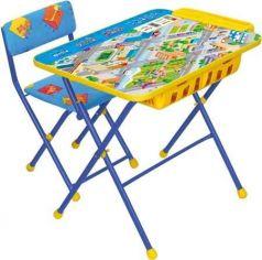 Комплект стол+стул Ника Умничка 2П Правила дорожного движения