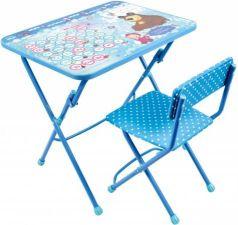 Комплект стол+стул Ника Умничка 1 Азбука 4 Маша и Медведь