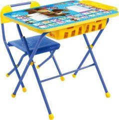 Комплект стол+стул Ника Английская азбука Маша и Медведь