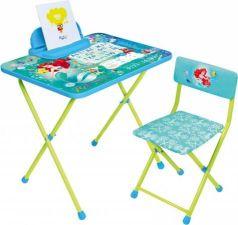 Комплект стол+стул Ника Disney 4 Русалочка