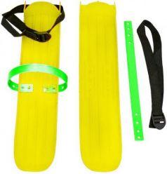 Мини-лыжи большие с ремнями РТ-2 (жёлтый)