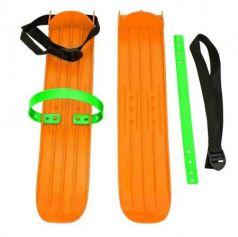 Мини-лыжи малые с ремнями РТ-2 (оранжевый)