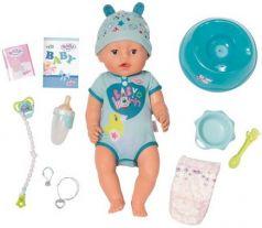 Кукла BABY born мальчик интерактивная, 43 см, кор.