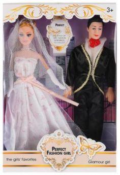 Кукла 29см с женихом ZR-585D в кор. в кор.2*36шт