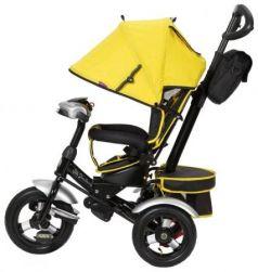 Велосипед трехколёсный Mr Sandman Cruiser 12*/10* желтый