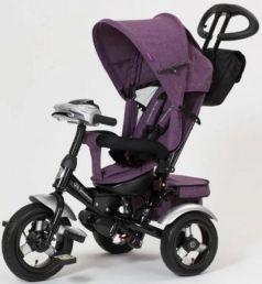 Велосипед трехколёсный Mr Sandman Cruiser 12*/10* фиолетовый
