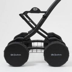 Чехлы на колёса Mr Sandman (12 дюймов) для детской коляски Черный