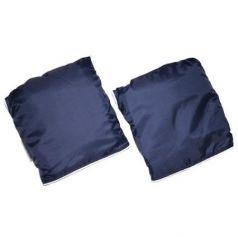 Муфта-варежки для рук Mr Sandman для детской коляски Т. Синий