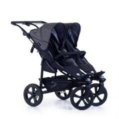 Прогулочная коляска для двойни TFK Twin Trail (415/premium grey)