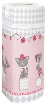 Сумка-термос Ceba Baby Jumbo(cats pink)
