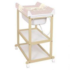 Пеленальный стол Ceba Baby Laura (beech/матрасик ducklings brown)