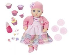 Кукла ZAPF Creation Кукла многофункциональная Праздничная 43 см пьющая писающая