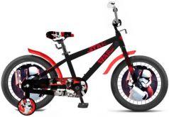 """Велосипед двухколёсный Disney Star Wars 18"""" черно-красный ВН18100"""