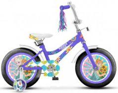 """Велосипед двухколёсный Disney Холодное сердце 18"""" фиолетовый ВН18105"""