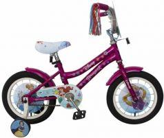 """Велосипед двухколёсный Disney Принцесса 14"""" розовый ВН14182"""