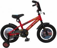 """Велосипед двухколёсный Disney Тачки 14"""" красный ВН14184"""