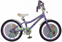 """Велосипед двухколёсный Disney Холодное сердце 20"""" фиолетовый ВН20193"""