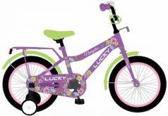 """Велосипед двухколёсный Navigator LUCKY 12"""" фиолетовый ВН12131"""