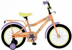 """Велосипед двухколёсный Navigator LUCKY 14"""" оранжевый ВН14174"""