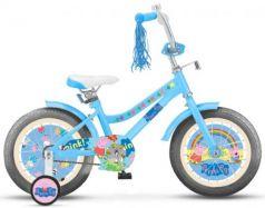 """Велосипед двухколёсный Navigator Peppa Pig 14"""" голубой ВН14183"""
