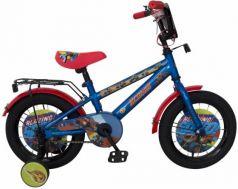 """Велосипед двухколёсный Navigator Вспыш 14"""" синий ВН14188"""