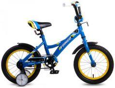 """Велосипед двухколёсный Navigator Bingo 14"""" синий ВМ14190"""