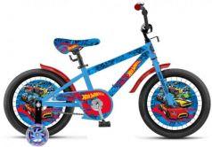 """Велосипед двухколёсный Navigator Hot Wheels 18"""" голубой ВН18102"""