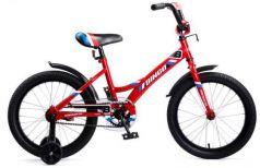 """Велосипед двухколёсный Navigator Bingo 18"""" красный ВМ18108"""