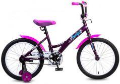 """Велосипед двухколёсный Navigator Bingo 18"""" черно-розовый ВМ18099"""