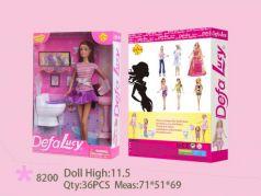 Кукла Defa Кукла с аксессуарами 30 см гнущиеся