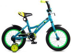 """Велосипед двухколёсный Navigator Bingo 14"""" голубой ВМ14191"""
