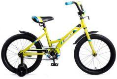 """Велосипед двухколёсный Navigator Bingo 18"""" желтый ВМ18109"""