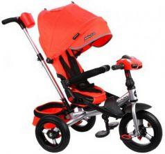 """Велосипед трехколёсный Moby Kids """"Leader 360°. AIR Car"""" 12*/10* красный"""