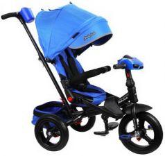 """Велосипед трехколёсный Moby Kids """"Leader 360°. AIR Car"""" 12*/10* синий"""