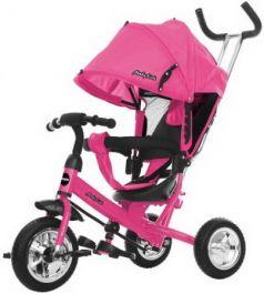 """Велосипед трехколёсный Moby Kids Start 10""""/8"""" розовый"""