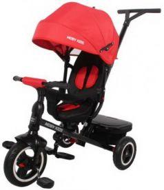 """Велосипед трехколёсный Moby Kids Rider 360° 10""""/8"""" красный"""