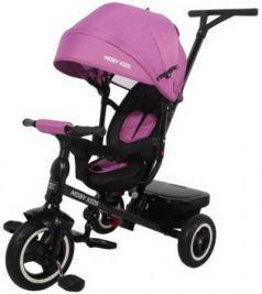 """Велосипед трехколёсный Moby Kids Rider 360° 10""""/8"""" фиолетовый"""