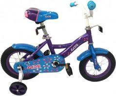 """Велосипед двухколёсный Navigator Lady 12"""" фиолетово-голубой ВН12163"""