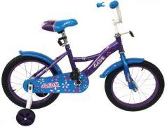"""Велосипед двухколёсный Navigator Lady 16"""" фиолетово-голубой ВН16160"""