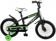 """Велосипед двухколёсный Navigator Sport I 16"""" черно-зеленый ВН16149"""