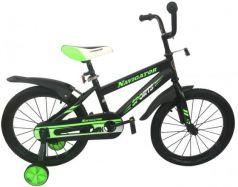 """Велосипед двухколёсный Navigator Sports 18"""" черно-зеленый ВН18113"""