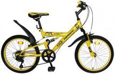 """Велосипед двухколёсный Top Gear Boxer 20"""" желтый ВН20204"""