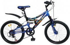"""Велосипед двухколёсный Top Gear Hooligan 20"""" синий ВН20208"""