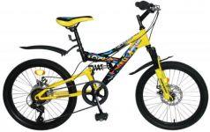 """Велосипед двухколёсный Top Gear Hooligan 20"""" желтый ВН20209"""