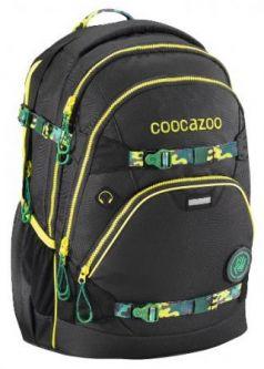 Рюкзак светоотражающие материалы Coocazoo e-ScaleRale TecCheck black зеленый черный