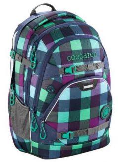 Рюкзак светоотражающие материалы Coocazoo ScaleRale Green Purple District 30 л бирюзовый синий