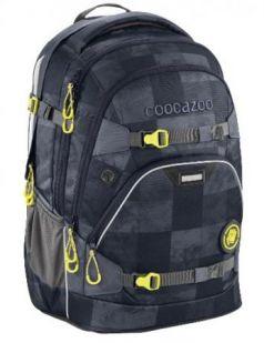 Рюкзак светоотражающие материалы Coocazoo ScaleRale Marble Check 30 л серый черный