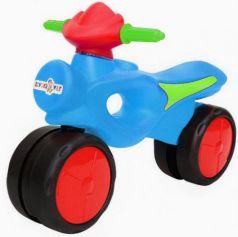 Беговел двухколёсный RT KINDER WAY сине-красный 11-008
